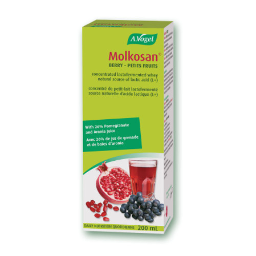 A. Vogel Molkosan Berry, lactic acid.  200 ml