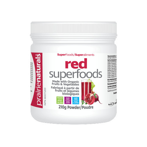 Prairie Naturals Red Superfoods powder.  Strong hair, nails and skin.