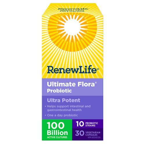 Renew Life Ultimate Flora Ultra Potent 100 Billion, those on antibiotics.