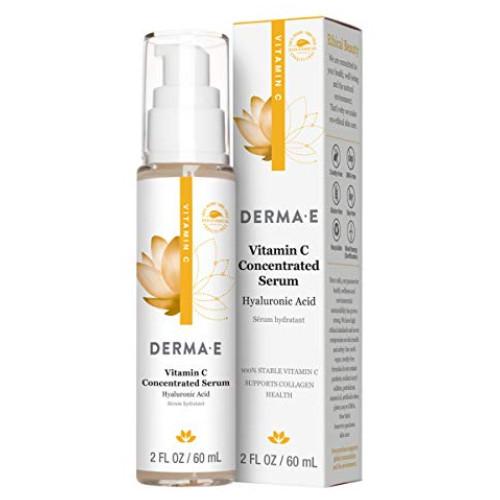 Derma E Vitamin C Concentrated Serum Hyaluronic Acid, collagen health Canada