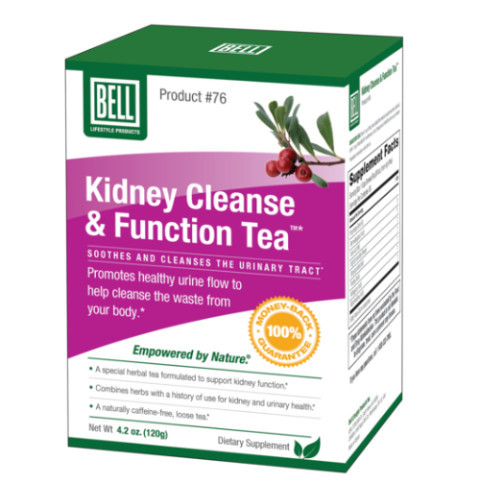 Bell Kidney Cleanse & Function Tea for Men and Women.