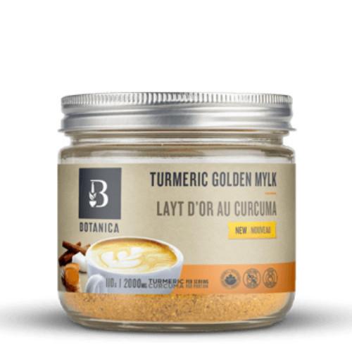 Botanica Turmeric Golden Mylk Organic 110 grams Canada