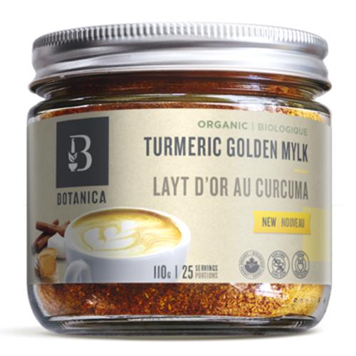 Botanica Organic Turmeric Golden Mylk 110 grams