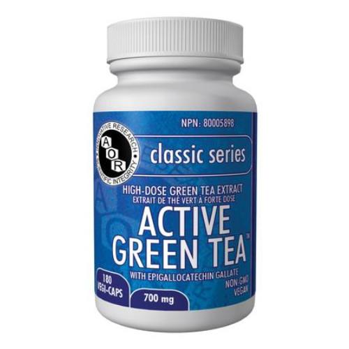 AOR Active Green Tea 180 vegi-caps