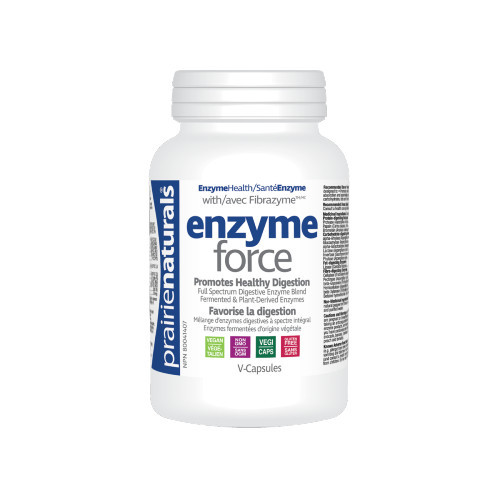 Prairie Naturals Enzyme Force for Digestion Canada Bonus Size