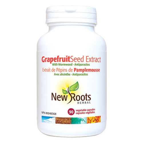 New Roots Grapefurit Seed Extract 90 capsules.  Canada