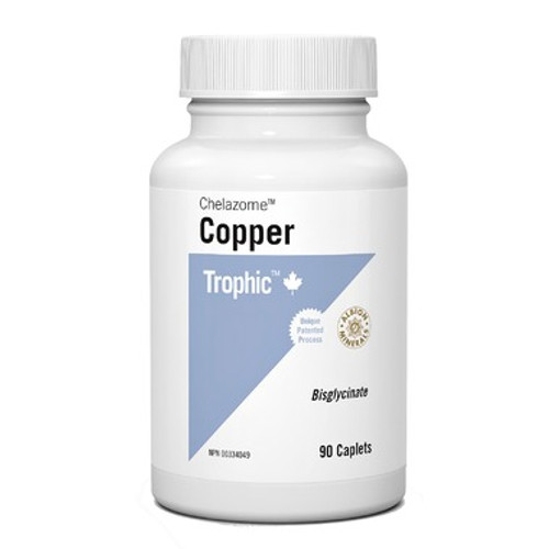 Trophic Copper Chelazome 90 caplets