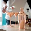 Rose Copper Cocktail Shaker 1