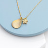 Personalised Star and Drop Necklace