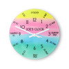 """Personalised """"I Can Tell The Time"""" Wall Clock - 20cm - Pic 1"""