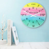 """Personalised """"I Can Tell The Time"""" Wall Clock - 20cm - Pic 3"""