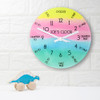 """Personalised """"I Can Tell The Time"""" Wall Clock - 20cm - Pic 4"""