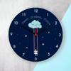 "Personalised ""Sweet Dreams Little One"" Wall Clock - 30cm"