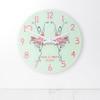Personalised Graceful Ballet Dancer Wall Clock - 30cm - Pic 1