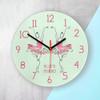 Personalised Graceful Ballet Dancer Wall Clock - 30cm - Pic 2