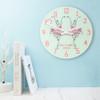Personalised Graceful Ballet Dancer Wall Clock - 30cm - Pic 4