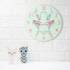Personalised Graceful Ballet Dancer Wall Clock - 30cm - Pic 5