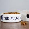 Personalised Sir Cat Food Bowl - Pic 1