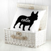 Personalised Bulldog Silhouette Cushion Cover - Pic 4