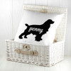Personalised Cocker Spaniel Silhouette Cushion Cover - Pic 5