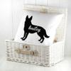 Personalised German Shepherd Silhouette Cushion Cover - Pic 5