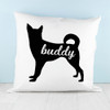 Personalised Husky Silhouette Cushion Cover - Pic 3