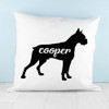 Personalised Boxer Silhouette Cushion Cover - Pic 3