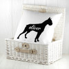 Personalised Boxer Silhouette Cushion Cover - Pic 5