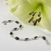 Black Onyx Teardrop Bracelet