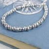 Silver Grey Pearl Bracelet for Women