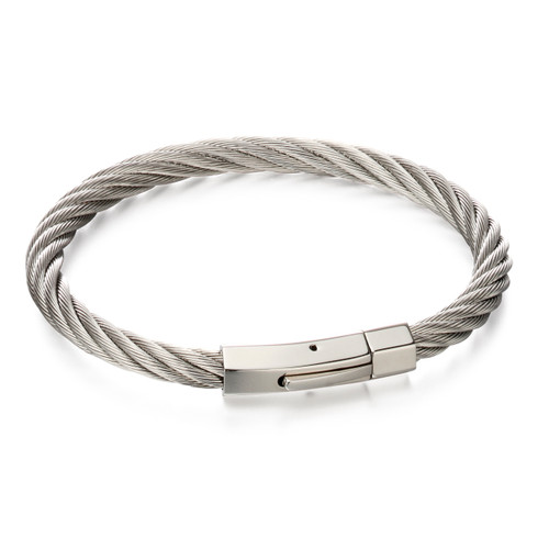 Fred Bennett Twisted Wire Cable Bracelet - B5053
