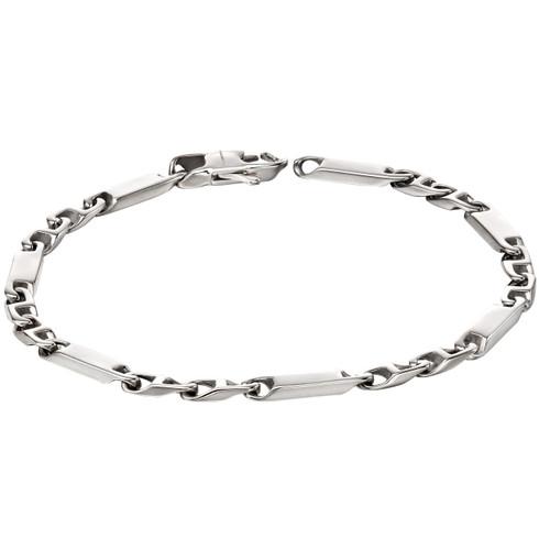 Fred Bennett Textured ID Chain Bracelet