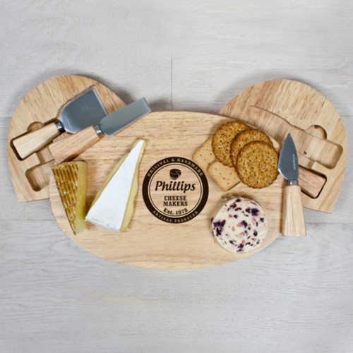 Personalised Artisan Cheese Board Set - Image 1