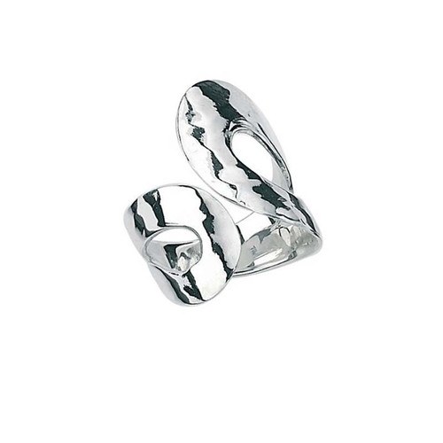 Beaten Silver Ring