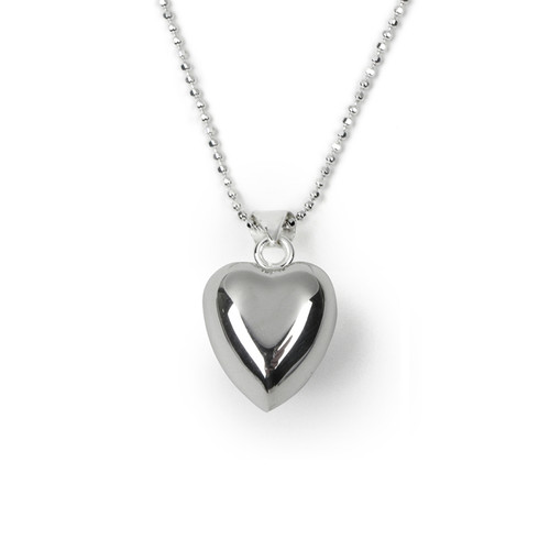 Tales From The Earth - Little Girl's Chiming Heart Necklaces