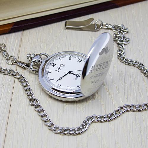 Personalised 1860 Pocket Watch - SBM
