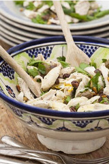 lemon chicken and herb salad recipe