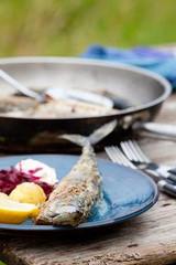 mackerel in fennel-seed oatmeal crust recipe