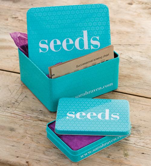 Sarah Raven Seed Tins