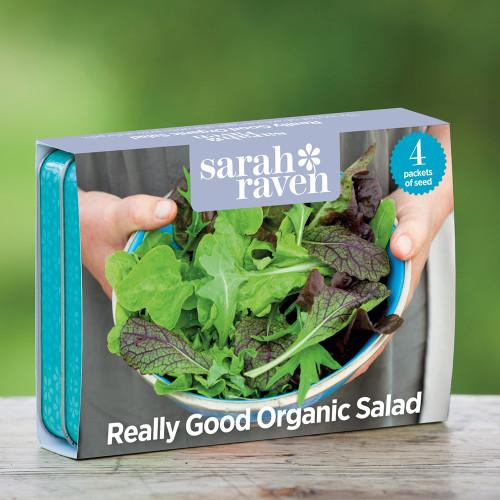 Really Good Organic Salad Seed Tin Collection