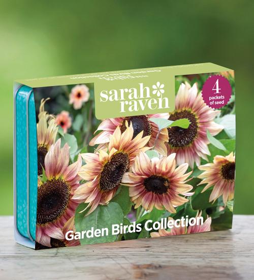 Garden Birds Seed Tin Collection