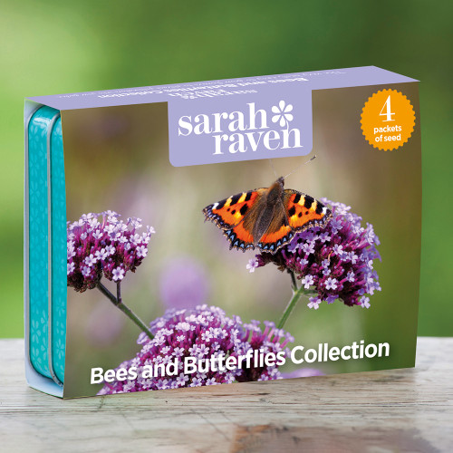 Bees and Butterflies Seed Tin Collection