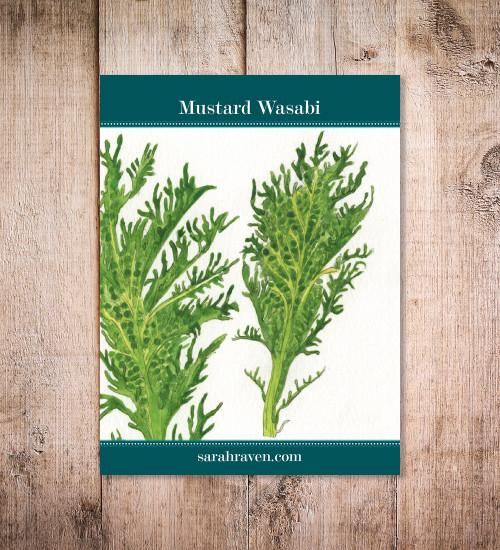 Mustard wasabi