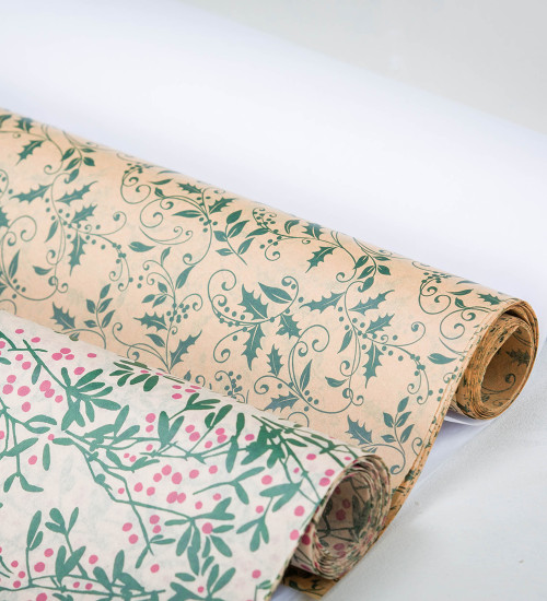 Holly and Mistletoe Tissue Paper