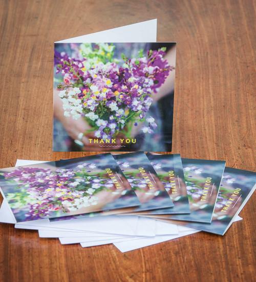 Sarah Raven Thank You Cards