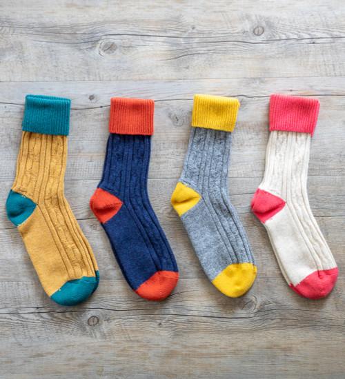 Cashmere Blend Socks