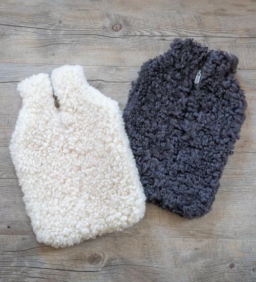 Sheepskin Hot Water Bottle & Cover
