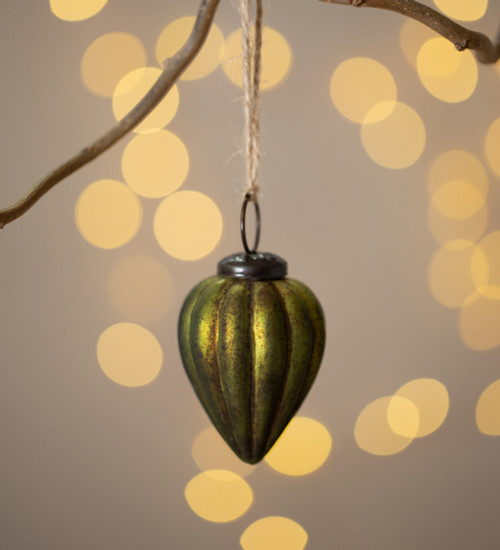 Ribbed Gourd Decorations