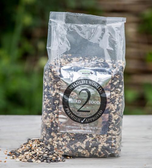 Premium Bird Food for Free Flowing Seed Feeders