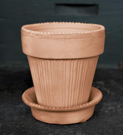 Paris Pot and Saucer Set